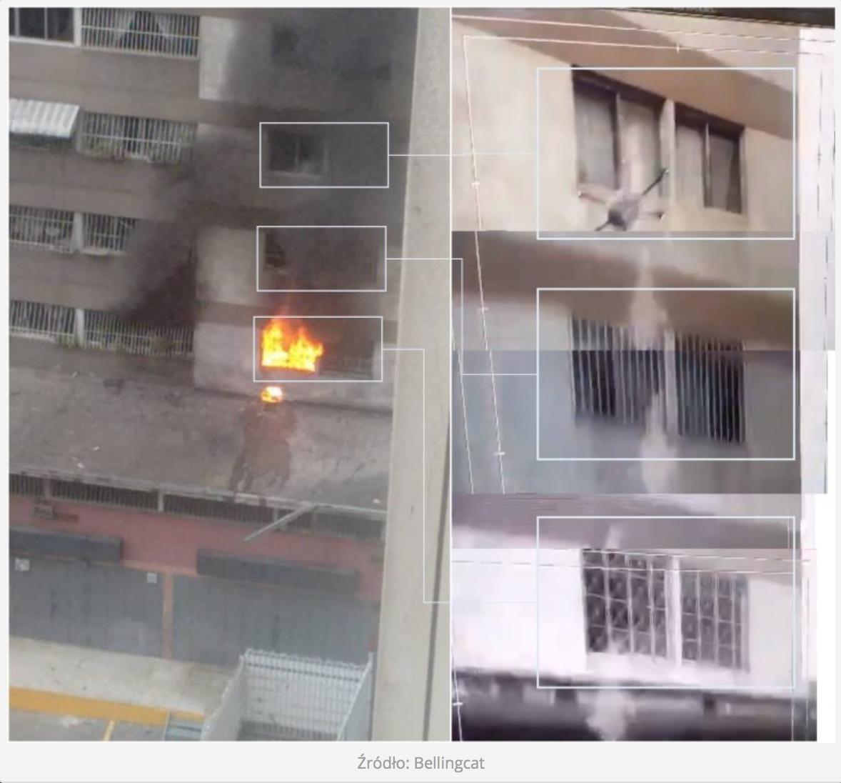 Atak za pomocą dronów na prezydenta Maduro