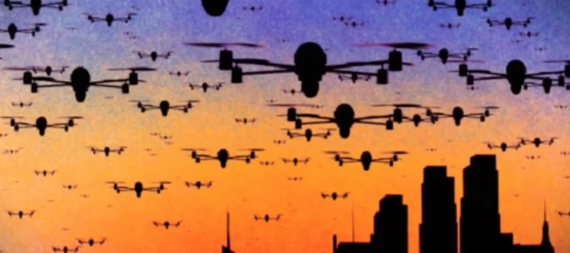 HE ERA OF THE DRONE SWARM IS COMING