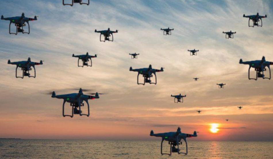NADCHODZI ERA ROJU DRONÓW